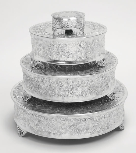 home dinnerware wedding cake stands tierra round wedding cake stand