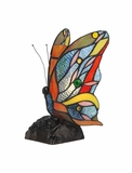 Tiffany- Butterfly Styled Fascinating Accent Lamp by Chloe Lighting