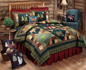 Timberline Quilt - 2 Shams Brand C&F