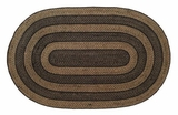 Timeless and Classic Farmhouse Jute Rug Oval by VHC Brands