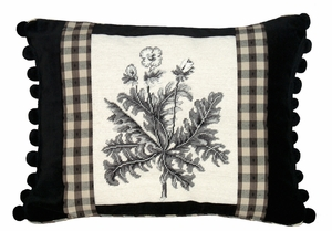 Timeless Celandine Petit Point Pillow by 123 Creations
