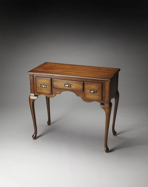 Timeless Hester Vintage Oak Low Boy Console by Butler Specialty