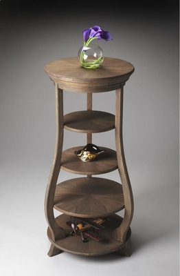 "Toasted Barley Etagere 44.25""H by Butler Specialty"