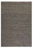 """Tobais 16"""" Rug with Rescued Italian Leather and Natural Hemp Brand Uttermost"""