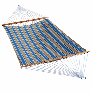 Toplar Denim Stripe 13' Fabric Hammock by Alogma