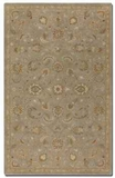 Torrente Light Grey 5' Rug with Beige and Olive Details Brand Uttermost