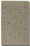 Torrente Powder Blue 5' Rug with Beige and Olive Details Brand Uttermost