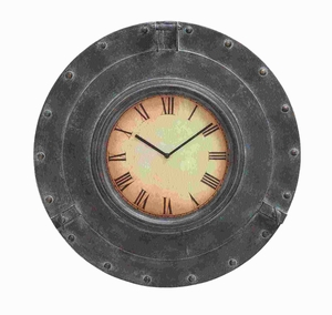 Traditional Designed Metal Wall Clock with antique Finish Brand Woodland