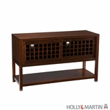 Traditional piece of Holly & Martin Akita Media Console by Southern Enterprises