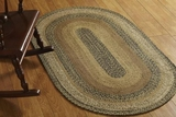 Traditionally Themed Kettle Grove Jute Rug Oval by VHC Brands