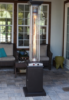 Trapani Patio Heater, Tough and Sophisticated Exceptional Outdoor Decor by Well Travel Living