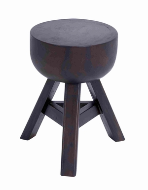 "Tremesi Wooden 18"" Stool with Wooden Frame in Light Weight Brand Woodland"