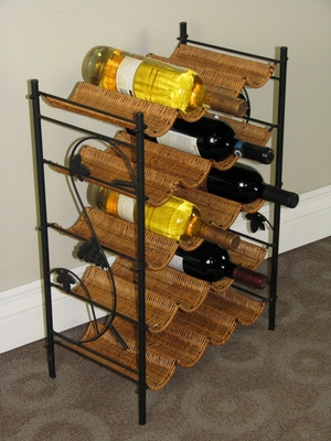 Trendy and Wonderfully Designed Wine Stand by 4D Concepts