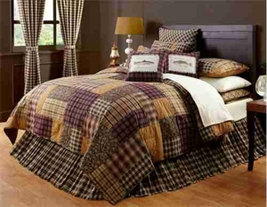 Truman Rustic Lodge Living Quilt King, Cotton Quilt 110X97 Brand VHC