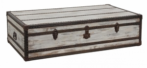 Trunk Styled Chateau Coffee Table with Drawer