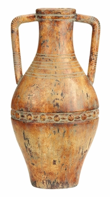 Ceramic Tuscan Urn Antique Decor - 61770 by Benzara