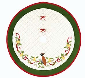 Twelve Days Christams Tree Skirt For Your Holidays Brand C&F