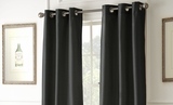 Two Packs of Black Noir Black Out Curtains
