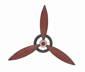 Unique and Exclusive Metal Propeller Wall Decorative Brand Benzara
