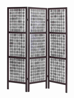 """Unique and Stylish 71"""" Decorative Wooden 3 Panel Screen Brand Woodland"""