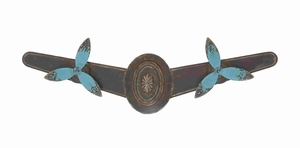Unique and Vintage Two Metal Propellers Wall Decorative Brand Benzara