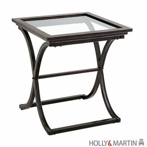 Unique, Antique Holly and Martin Roxburgh End Table by Southern Enterprises