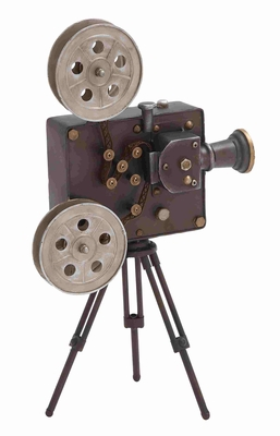 Unique Antique Themed Metal Movie Projector Home D�cor Brand Benzara