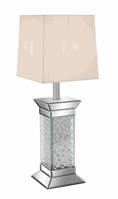 Unique Bubble Surfaced Stylish Mirror Table Lamp Brand Benzara