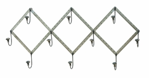 Unique Do It Yourself Tape Measure Wall Hooks in Steel Alloy Brand Woodland