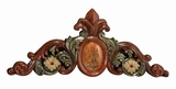 Unique Floral Patterns Hand Carved Wall Decor Sculpture Brand Woodland