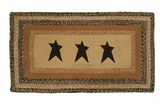 Unique Kettle Grove Jute Rug Rect Stencil Star by VHC Brands