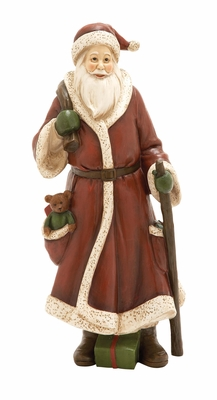 Unique Santa Figurine Holiday Decor