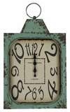 Unique Styled Aged Green Finish Stasia Clock by Cooper Classics