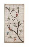 Unique Styled Classy Metal Wall Panel by Woodland Import