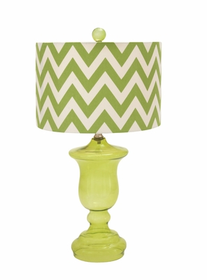 Unique Styled Wonderful Glass Table Lamp - 97354 by Benzara