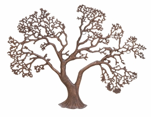 Unique Tree Decor Sculpture Defines Ultimate Standards Of Metal Carving Brand Woodland