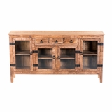 Uniquely Designed Solid Mangowood Console Table by Yosemite Home Decor