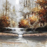 Uniquely Painted Natural Perspective II Artwork by Yosemite Home Decor