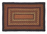 Unmissable and Distinct Ontario Jute Rug Rect by VHC Brands