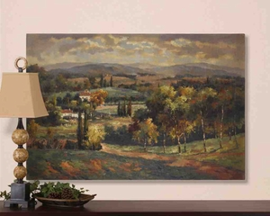 UT32165 SCENIC VISTA Hand Painted Wall Art by Grace Feyock Brand Uttermost