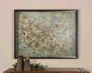 UT41199 BLOSSOM MELODY Wall Art Oil Reproduction by Carson Brand Uttermost