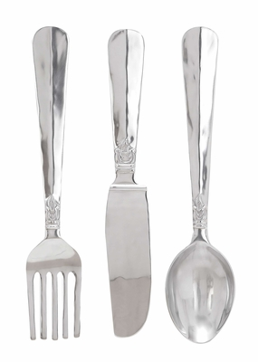 Utensil Set/3 An Excellent Metal Wall Decor Brand Woodland