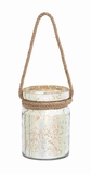 Valencia Wonderful Rope Hanging Lantern Creation Brand Benzara