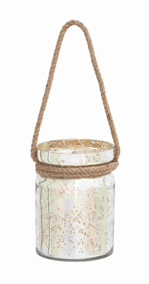 Valencia Wonderful Rope Hanging Lantern Creation - 28854 by Benzara