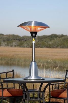 Venice Table Top Halogen Patio Heater, Enormously Effective Unit by Well Travel Living