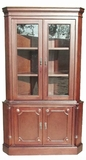 Vernier Corner Cabinet, Alluring Design Exclusively Radiant Masterpiece by D-Art