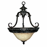 Verona Collection Amazing Modish Styled 3 Light Pendant Lighting in Bronze by Yosemite Home Decor