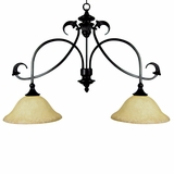 Verona Collection Beautiful Styled 2 Lights Island Light series in sienna Bronze by Yosemite Home Decor