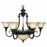 Verona Collection Beautiful Unique Styled 9 Lights Chandelier in sienna Bronze by Yosemite Home Decor