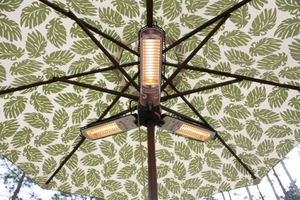 Verona Umbrella Halogen Patio Heater, Durable And Dynamic Unit by Well Travel Living